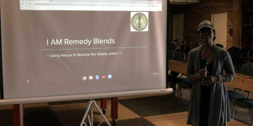 A Holistic Approach to Healthy Living presented by I AM Remedy Blends