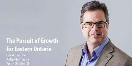 The Pursuit of Growth for Eastern Ontario tickets