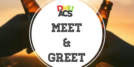 DeMontfort University African Caribbean Society Meet x Greet tickets