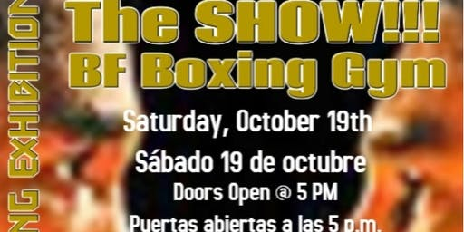 The SHOW...The Greatest Boxing Exhibition