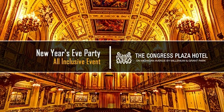 New Year's Eve Party 2021 at Congress Plaza Hotel tickets
