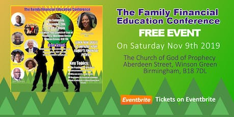 The Family Financial Education Conference tickets