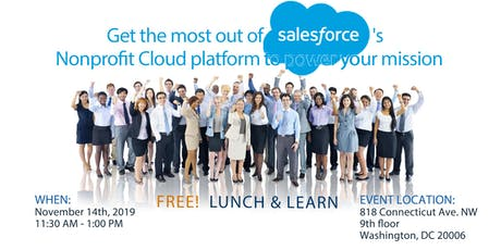 FREE Lunch & Learn :: Get the most out of Salesforce's Nonprofit tickets