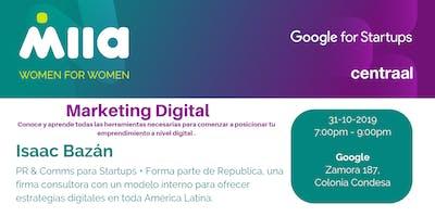 Marketing Digital para tu emprendimiento  (Evento exclusivo para mujeres)