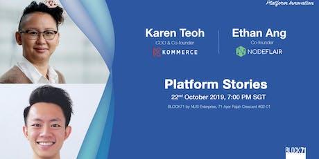 Platform Stories: Kommerce & NodeFlair tickets