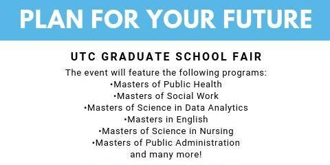 UTC Fall 2019 Graduate School Fair