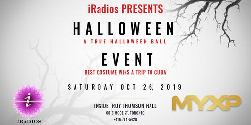 Halloween Party inside Roy Thomson Hall : Saturday Oct 26, 2019 - MYXP