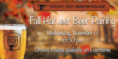 Fall Harvest Beer Pairing tickets