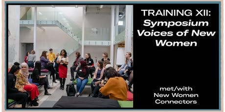 Training XII: Symposium Voices of New Women tickets