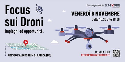 Focus sui Droni