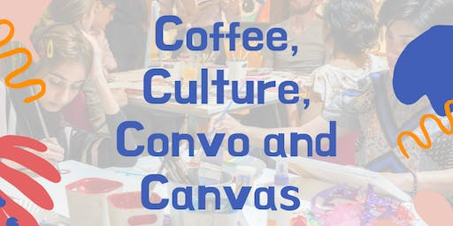 Coffee, Culture, Convo and Canvas (Water-colour Workshop with a Twist)