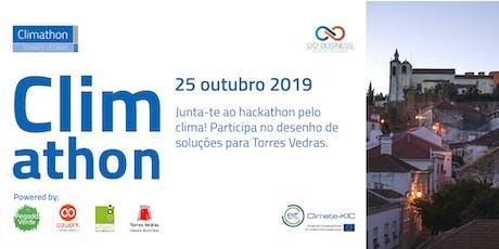 Alimentação Sustentável em Torres Vedras - Climathon 2019 bilhetes