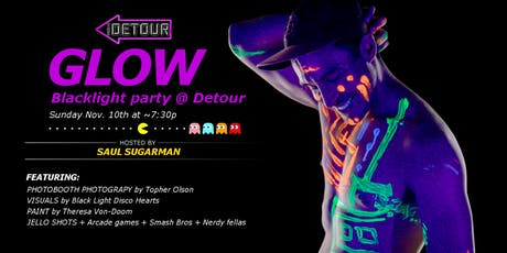 GLOW: Blacklight Party at Detour tickets
