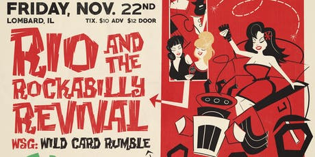 Rio & The Rockabilly Revival with Wild Card Rumble at Brauer House tickets