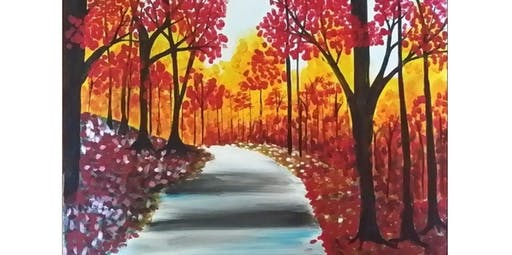 Painting at the Crab Pot- Autumn Leaves (2019-11-09 starts at 12:30 PM)