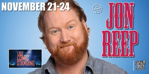 Comedian Jon Reep winner of Last Comic Standing live in Naples,Fl