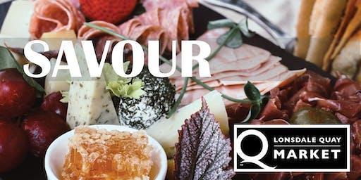 Savour Food Tour at Lonsdale Quay Market-Sunday 17th