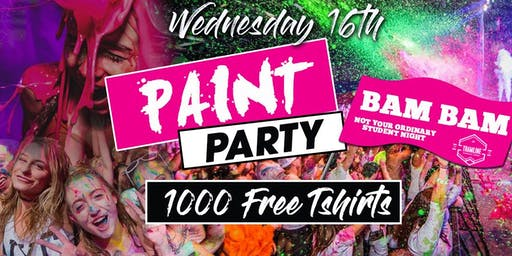 Graffiti Party at Tramline - 1000 Free  White T-Shirts  - €2.50 Drinks