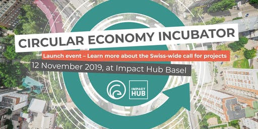Circular Economy Incubator 2020 - Launch Event