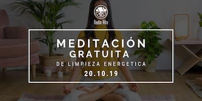 Meditación Gratuita de Limpieza Energética