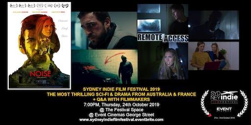 Sydney Indie Film Festival 2019 – Thriller Sci-Fi Action