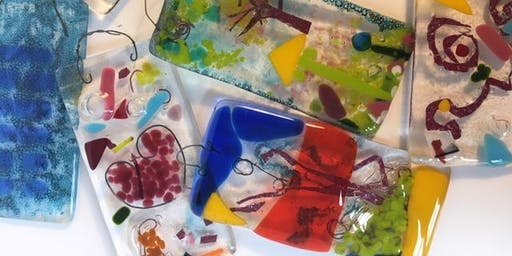 Fused Glass Christmas Decorations