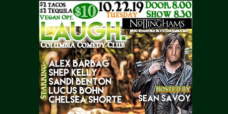 LAUGH: Columbia Comedy Club inside Nottingham's  tickets