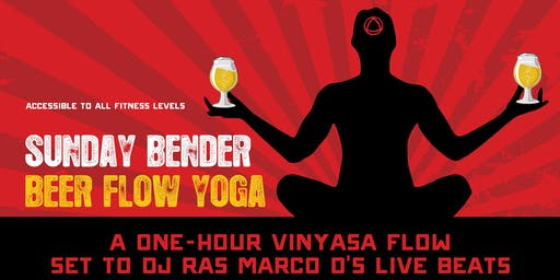 Beer Flow Yoga w/ Mary Macey & DJ Ras Marco D