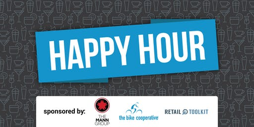 Happy Hour sponsored by The Bike Cooperative
