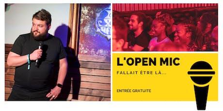 l'Open Mic de Lausanne  - 1er Novembre billets