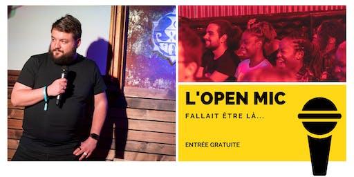 l'Open Mic de Lausanne  - 1er Novembre