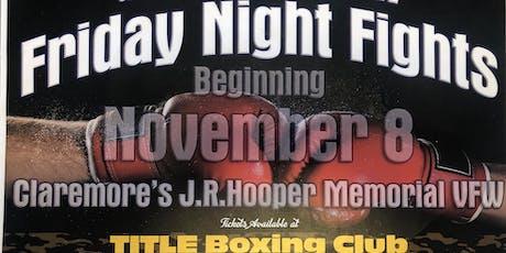 VFW Fight Night tickets