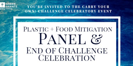 Plastic + Food Mitigation Panel and End of Challenge Celebration tickets