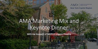 AMA Marketing Mix and Keynote Dinner with Kat Koppett