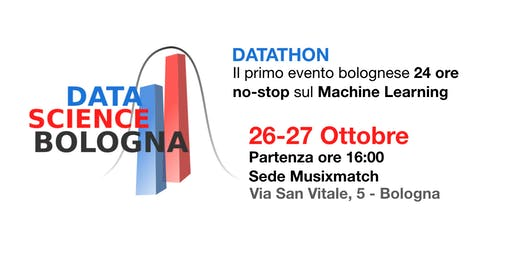 Data Science Bologna presenta: Datathon