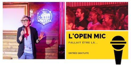 l'Open Mic de Lausanne  - 8 Novembre billets