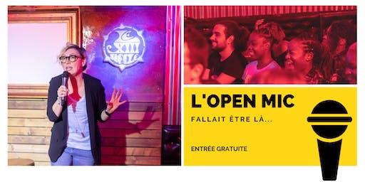l'Open Mic de Lausanne  - 8 Novembre