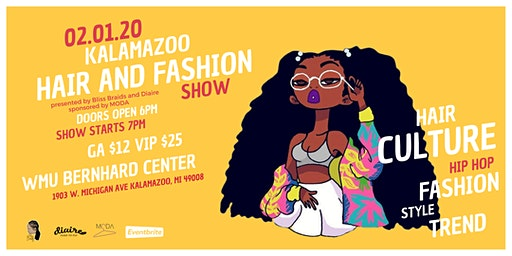 2020 Kalamazoo Hair and Fashion Show