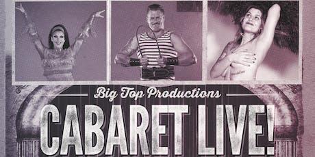 Cabaret Live! Dinner & a Show tickets