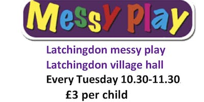 Messy play group Latchingdon