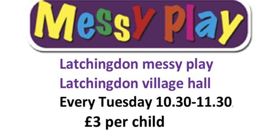 Messy play group Latchingdon