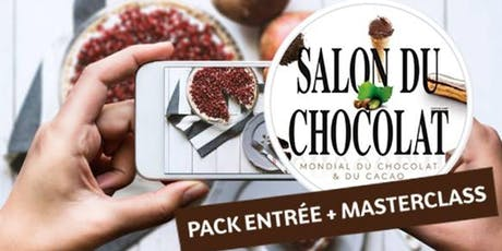 Masterclass photo culinaire au Salon du Chocolat, avec Alice Pagès billets