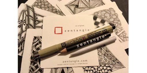Intro to Zentangle  (2019-11-03 starts at 2:00 PM)