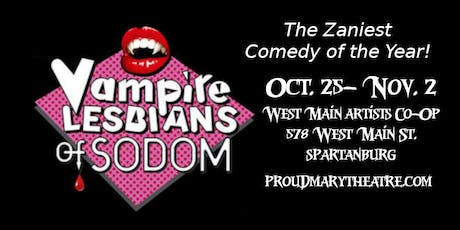 Halloween Upstate Pride Night Benefit Vampire Lesbians of Sodom tickets