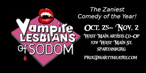 Halloween Upstate Pride Night Benefit Vampire Lesbians of Sodom