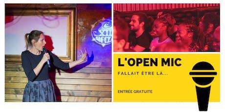 l'Open Mic de Lausanne  - 15 Novembre billets
