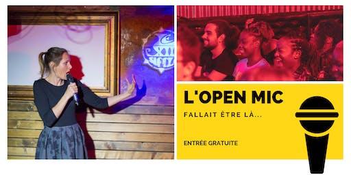 l'Open Mic de Lausanne  - 15 Novembre