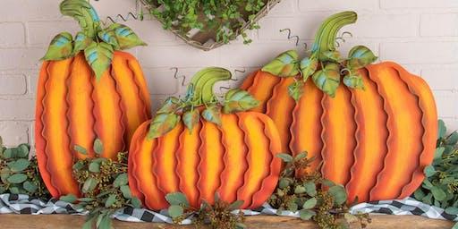 Make and Take Pumpkin Trio Make and Take