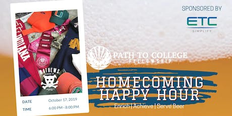 Homecoming Happy Hour with Path to College tickets