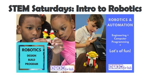 STEM Saturday programs: Intro to Robotics for children age 4-6